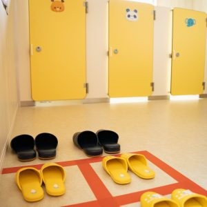保育園内のトイレ