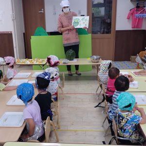 食育の授業風景